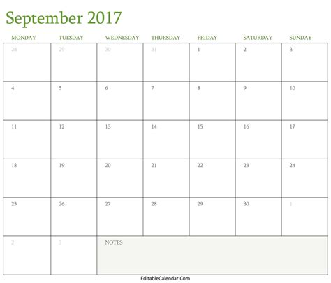 printable calendar september september 2016 calendar printable with holidays pdf word