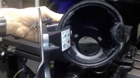 ford   broken fuel filler door fix    youtube