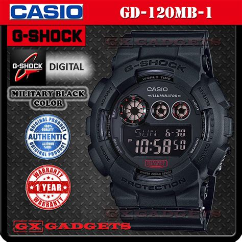 Casio G Shock Gd 120mb 1 Original Garansi Resmi 1 Tahun casio g shock gd 120mb 1 black end 8 21 2017 11
