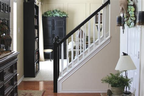 How To Paint Banister by Painting Our Banister Simply Domestic