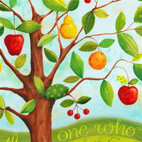 fruit cocktail tree psalm 1 fruit cocktail tree print