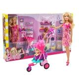 barbie boat with puppies barbie doll with puppies cats pram fashion playset toys