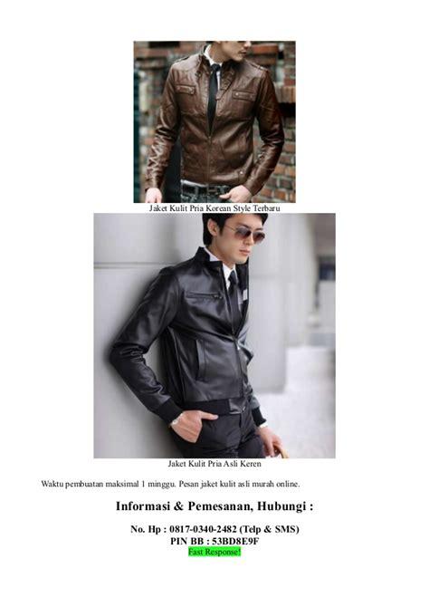 Jaket Kulit Asli 100 Jogja Bisa Pesan Model N Ukuran Sendiri Cwo 08 jual jaket kulit asli murah
