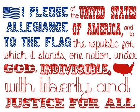 the pledge of allegiance as a civics lesson still advocating