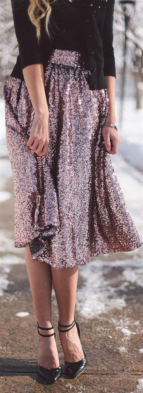 Glitter Skirt pink sequin skirt fashion