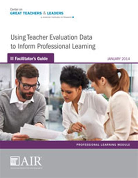 using data to improve learning a practical guide for busy teachers books professional learning modules center on great teachers