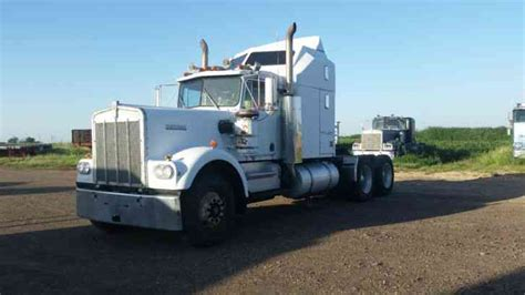 a model kenworth for sale kenworth w900a 1981 sleeper semi trucks