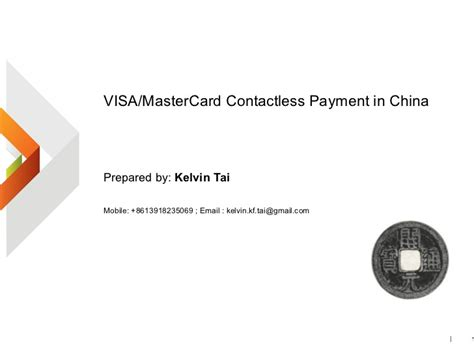Release Letter China Visa Visa Master Card Contactless Payment In China V1