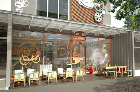 design cafe ice cream once upon a cream ice cream shop by mada hua hin