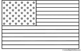 Coloring Pages American Flag american flag coloring page veteran s day