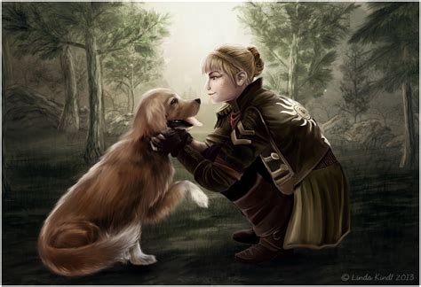 setter dog fable 3 the princess and the dog by isriana on deviantart