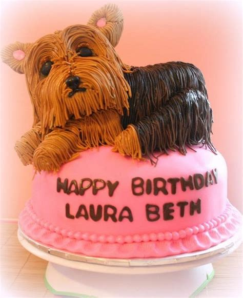 yorkie cakes 1000 images about yorkie cakes cupcakes and pops on amazing dogs puppy