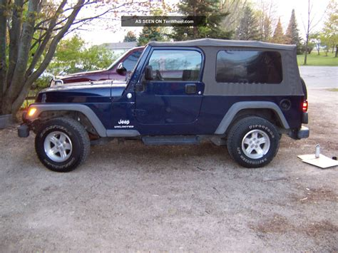 2006 Jeep Unlimited 2006 Jeep Wrangler Unlimited