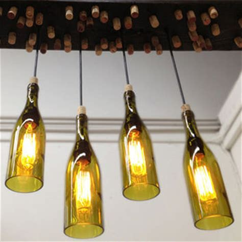 Wine Bottle Light Fixture Hanging Barn Wood Light Fixture With From Industrial Lightworks