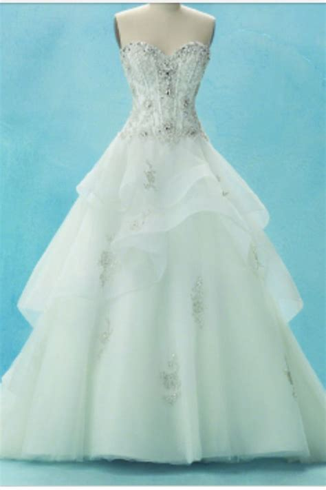 7 Prettiest Disney Princess Wedding Gowns by 1000 Images About And White Wedding On