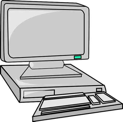 Batman Desk Computer Monitor And Keyboard Clip Art Clipart Panda