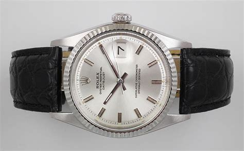 Rolex Detik Bawah White Silver Cover Black rolex oyster perpetual datejust in stainless steel silver 1970