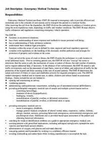 emt job description resumes design
