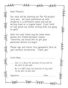 form frenzy pen pal freebie teacher idea factory