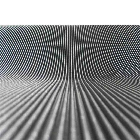 corrugated fine rib rubber runner mats  rubber