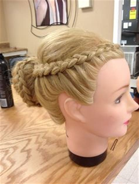 Hairstyles For Mannequin Heads by Mannequin Hairstyles On Cosmetology Updo