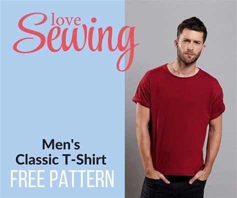 pattern making t shirt 187 free men s classic t shirt pattern and tutorial
