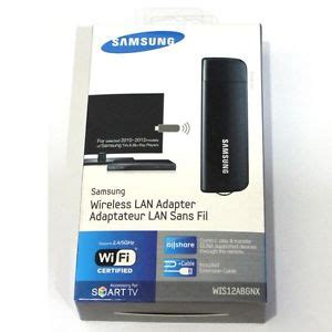 Samsung Wifi Gt S5233w samsung smart tv wireless lan adapter wis12abgnx wifi dongle adaptor ebay
