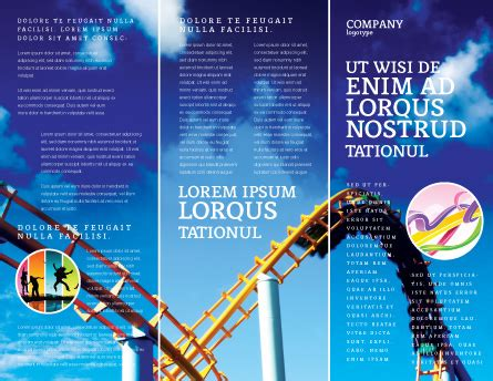 index card roller coaster templates pdf roller coaster brochure template design and layout