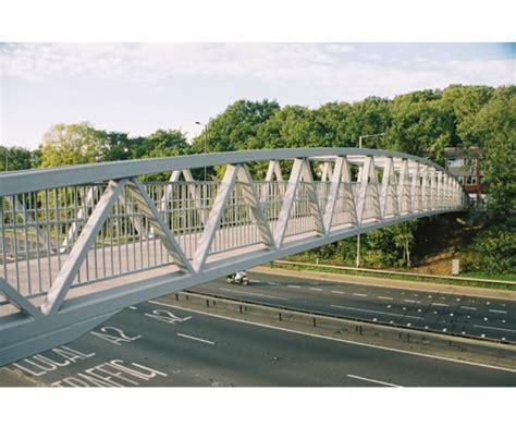 footbridge plans warren design steel footbridges topbond esi external works