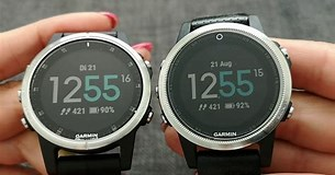 Image result for Fenix 5S vs 5S Plus. Size: 305 x 160. Source: www.youtube.com