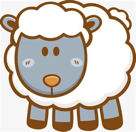 imagenes animadas de ovejas pintado a mano de dibujos animados ovejas animales de