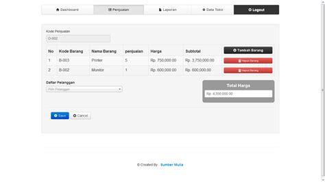 membuat web forum dengan codeigniter pondoksoft download sistem aplikasi penjualan barang