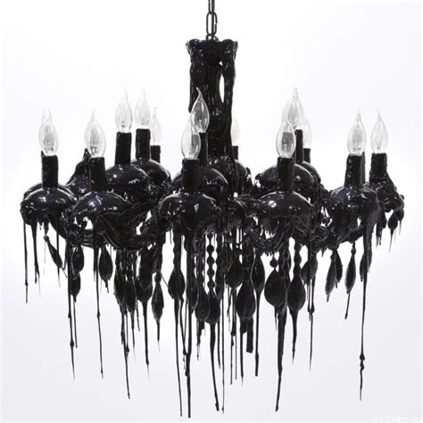 black bedroom chandelier drippy black chandelier gothic org