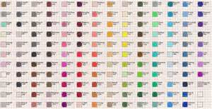 prismacolor 150 color chart sanford prismacolor color chart by josephine9606 on deviantart