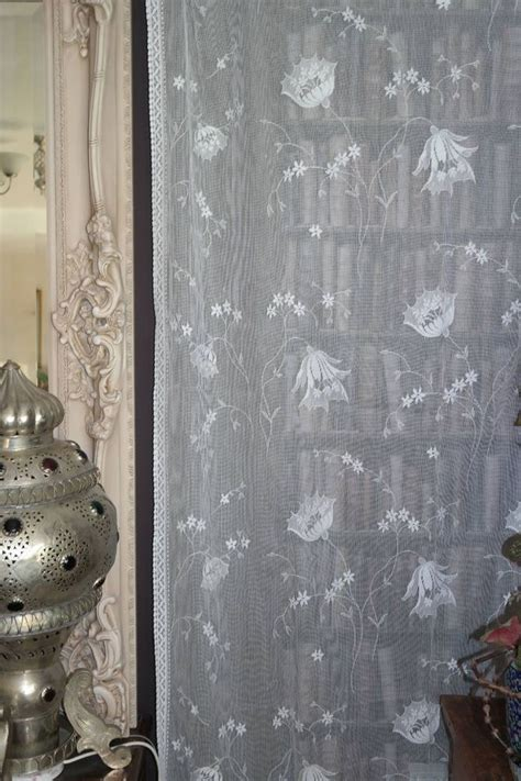 laura ashley lace curtains lily laura ashley vintage design cotton lace curtain panel