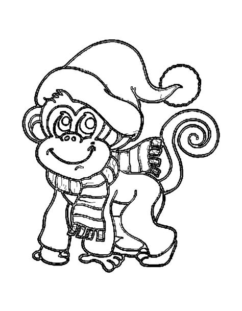 new year monkey coloring coloring pages for the new year 2016 monkeys and