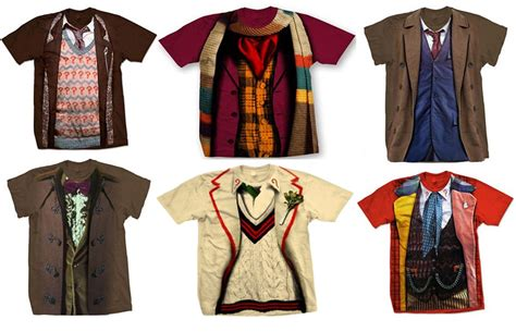 doctor who costume shirts the awesomer