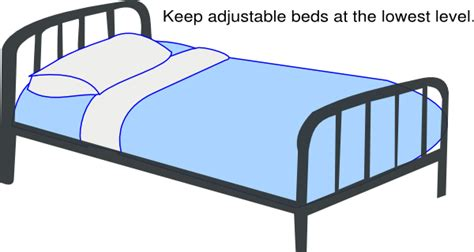 surgical bed blue low hospital bed clip art at clker com vector clip art online royalty free