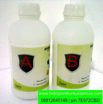 Jual Alat Hidroponik Kangkung nutrisi hidroponik growmaxx sayuran daun nh01 jual