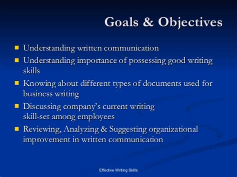 what to write in communication skills in a resume time management objectives learning different types of