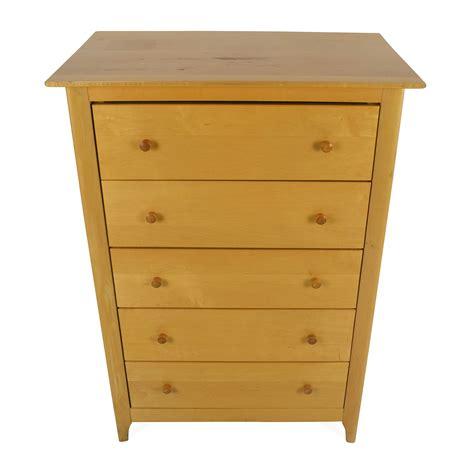 Birch Dresser by 54 Unknown Brand Birch Wood Dresser Storage