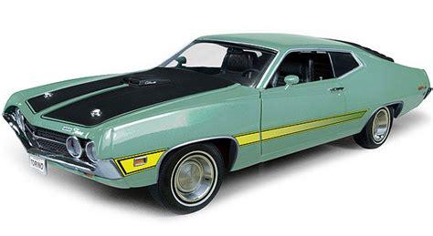 Ertl 1 18 Amm992 1971 Ford Torino Cobra Light Green Diecast Model Ca ertl 1 18 1971 ford torino cobra diecast model diecast zone