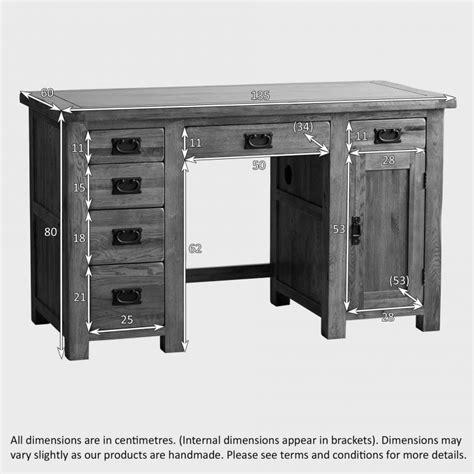 solid oak computer desk for sale original rustic computer desk in solid oak oak furniture