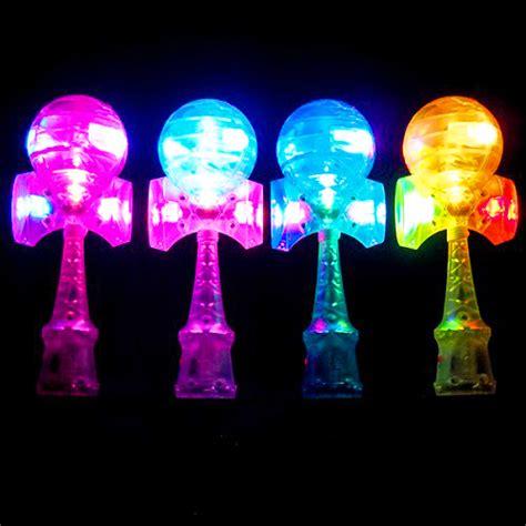 hyper tough led shop light hyper led kendama glow japanese skill toy plastic