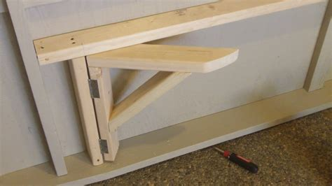 fold down bench amazing folding garage workbench 14 fold down garage work