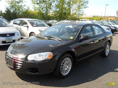 2004 chrysler seabring 2004 chrysler sebring lx sedan in brilliant black