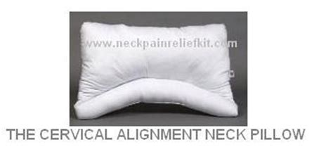 Proper Alignment Neck Pillow by Neck Pillow Cervical Support Pillow Pillow For Neck