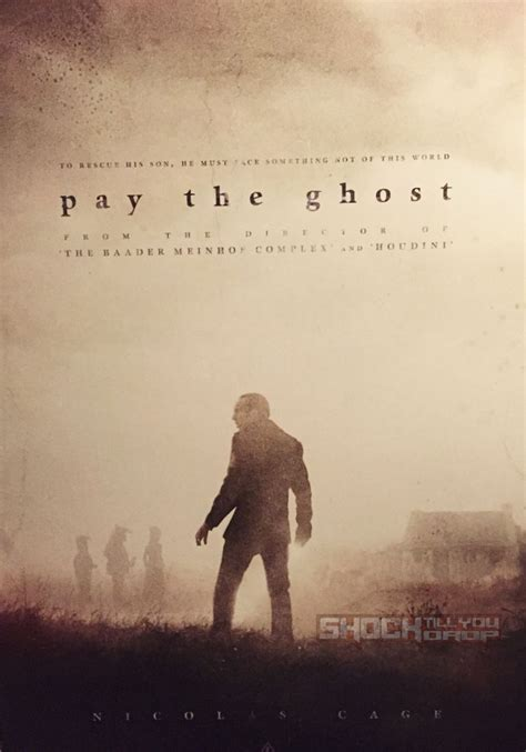 film nicolas cage pay the ghost nicolas cage must pay the ghost in this teaser poster