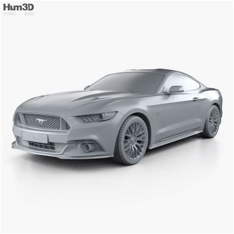 specs on 2015 mustang gt ford mustang gt eu spec fastback 2015 3d model hum3d