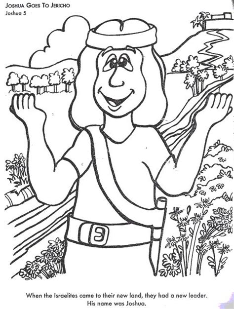 Joshua 7 Coloring Pages by Joshua Goes To Jericho Colouring Pages Entering And